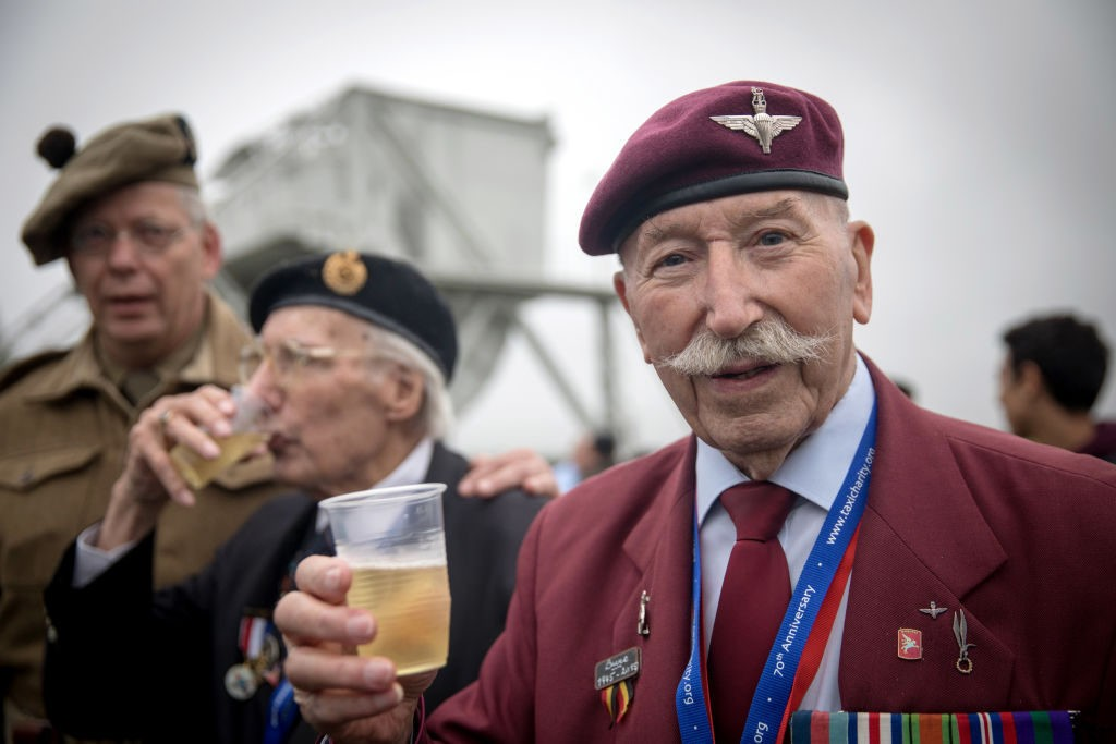 PICTURES: Veterans Gather in Normandy, France to Commemorate 1944 D-Day Landings