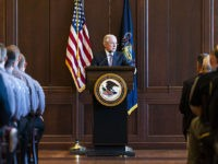 SCRANTON, PA - JUNE 15: U.S. Attorney General Jeff Sessions delivers remarks on immigration and law enforcement actions on at Lackawanna College June 15, 2018 in Scranton, Pennsylvania. The audience was an invited a group of federal, state and local law enforcement as well as local police academy cadets. (Photo …