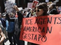 San Francisco Protest: 'ICE = American Gestapo'