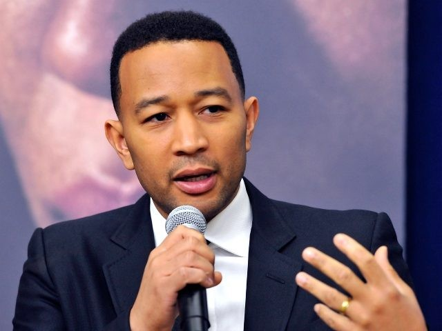 Executive producer John Legend participates in a screening and panel discussion of WGN America's 'Underground' at The White House on February 22, 2016 in Washington, DC. (Photo by Larry French/Getty Images for WGN America