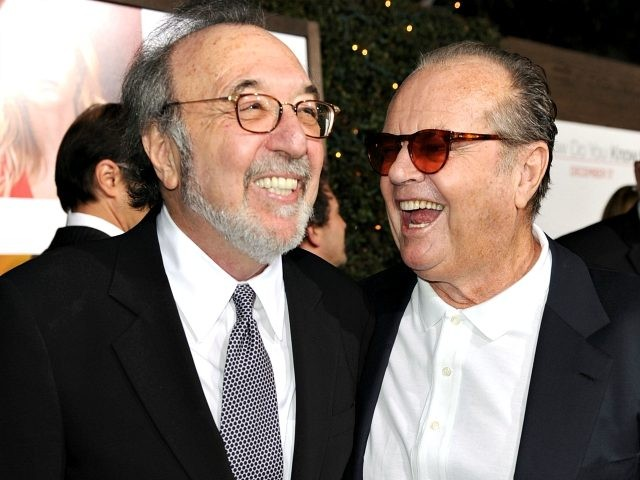 Writer/director/producer James L. Brooks (L) and actor Jack Nicholson arrive at the premiere of Columbia Pictures' 'How Do You Know' at the Regency Village Theatre on December 13, 2010 in Los Angeles, California. (Photo by Kevin Winter/Getty Images)