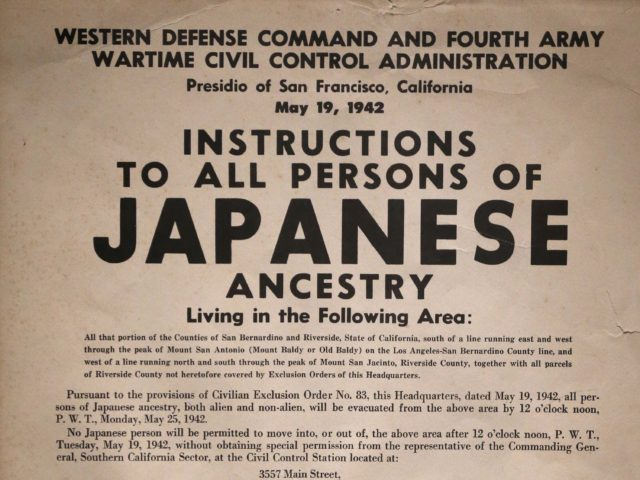 Japanese Internment (Gerald Herbert / Associated Press)