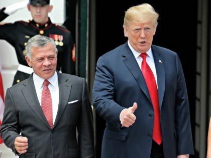 Jordan King, Trump