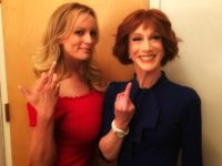Kathy Griffin Teams with Stormy Daniels to Say 'F**k Trump'