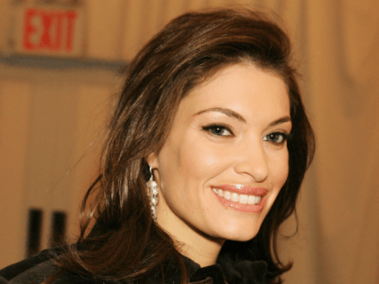 Kimberly Guilfoyle Newsom attends Olympus Fashion Week Fall 2006 at Bryant Park February 08, 2006 in New York City. (Photo by Katy Winn/Getty Images)