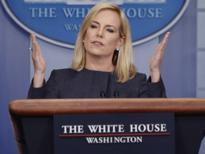 Donald Trump Praises DHS Secretary Kirstjen Nielsen for Press Conference Performance