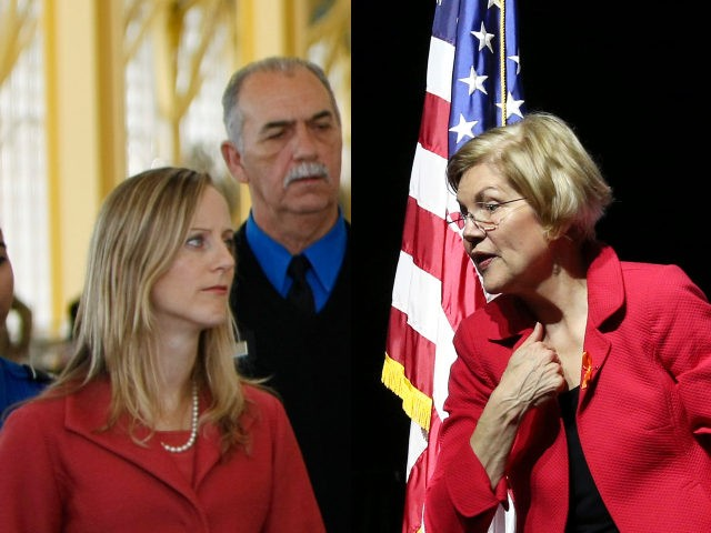 Kathy Kraninger and Elizabeth Warren