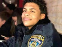 CORRECTS LAST NAME TO GUZMAN-FELIZ, NOT GUZMAN-ORTIZ - This undated photo provided by the New York City Police Department (NYPD) shows Lesandro Guzman-Feliz, a teenage member of the NYPD's Law Enforcement Explorers program. Guzman-Feliz, 15, was attacked at a bodega in the Bronx borough of New York on June 19, …