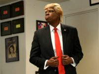Leslie Jones plays President Donald Trump on Saturday Night Live (NBC)