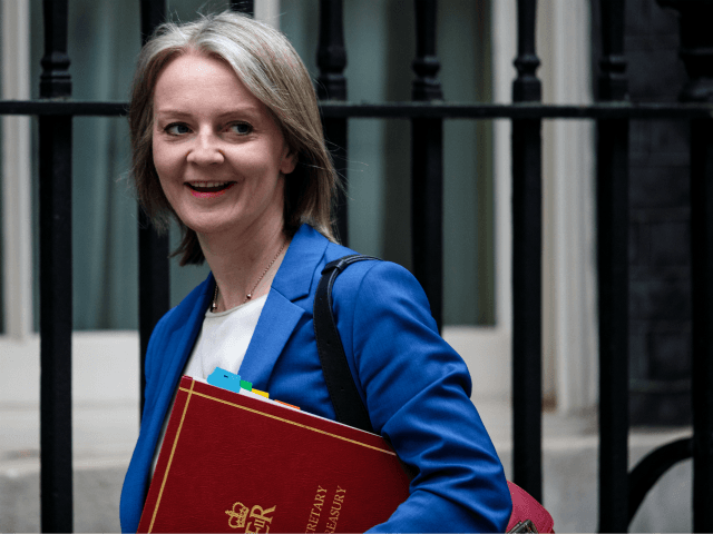 LONDON, ENGLAND - JUNE 05: Chief Secretary to the Treasury Elizabeth Truss arrives for a Cabinet meeting chaired by British Prime Minister Theresa May at 10 Downing Street on June 5, 2018 in London, England. (Photo by Jack Taylor/Getty Images)
