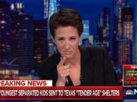 Maddow Has Apparent Emotional Breakdown Over AP Border Story