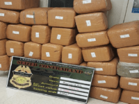685 pounds of marijuana seized at Texas border near Laredo. (Photo: U.S. Border Patrol/Laredo Sector)