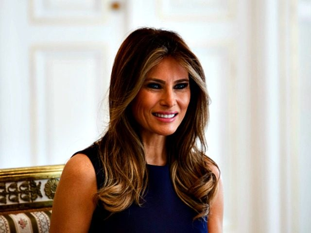 First lady Melania Trump returns to public eye after 'little rough patch'