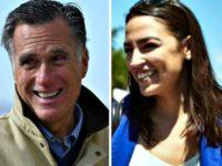 Mitt Romney, Alexandria Ocasio-Cortez