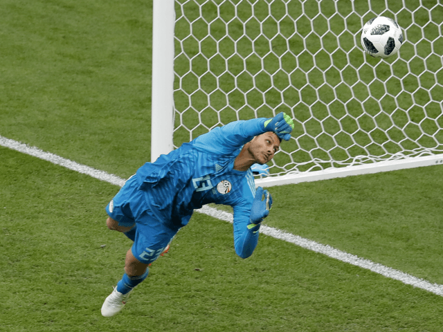 Egypt goalkeeper Mohamed El-Shenawy
