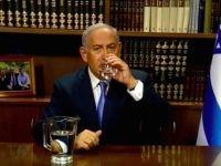 Netanyahu water (Screenshot / Twitter)
