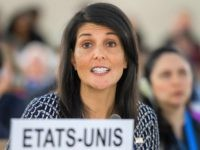 Nikki Haley (Fabrice Coffrini / AFP / Getty)