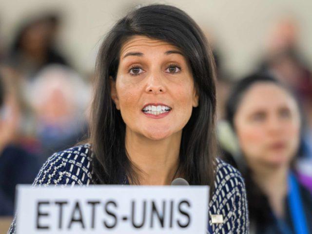 Nikki Haley (Fabrice Coffrini / AFP / Getty)