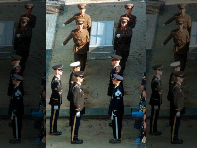 U.S. Sends 100 Caskets to DMZ to Receive Service Members' Remains