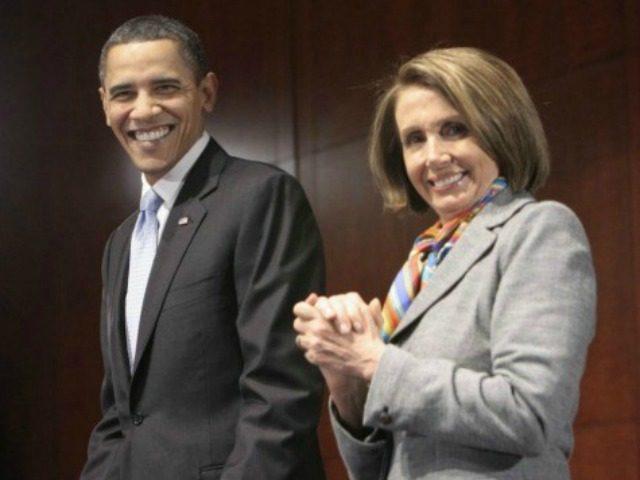 Pelosi Obama AP