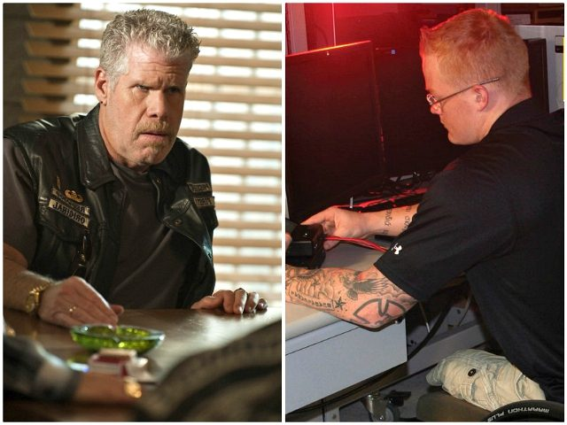 Ron Perlman in Sons of Anarchy (SutterInk, 2008)