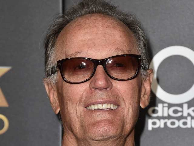 Peter Fonda arrives at the Hollywood Film Awards at the Beverly Hilton Hotel on Sunday, Nov. 1, 2015, in Beverly Hills, Calif.