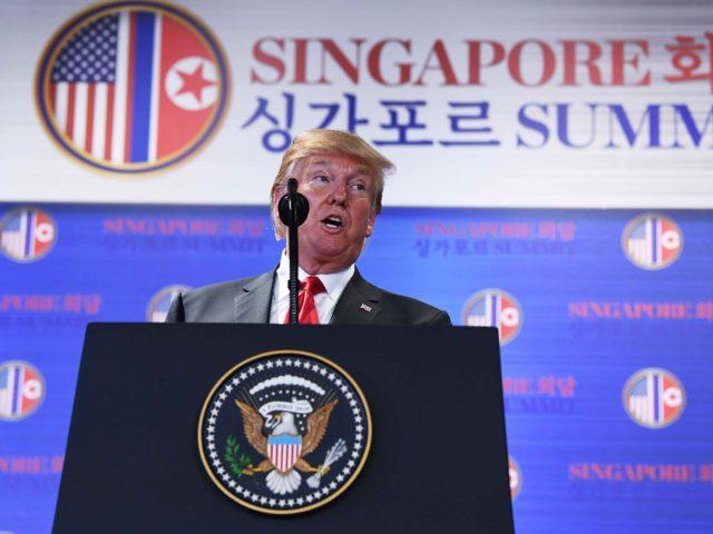 President Trump presser (Saul Loeb / AFP / Getty)
