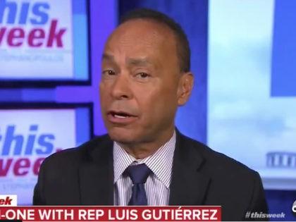 Rep Luis Gutiérrez