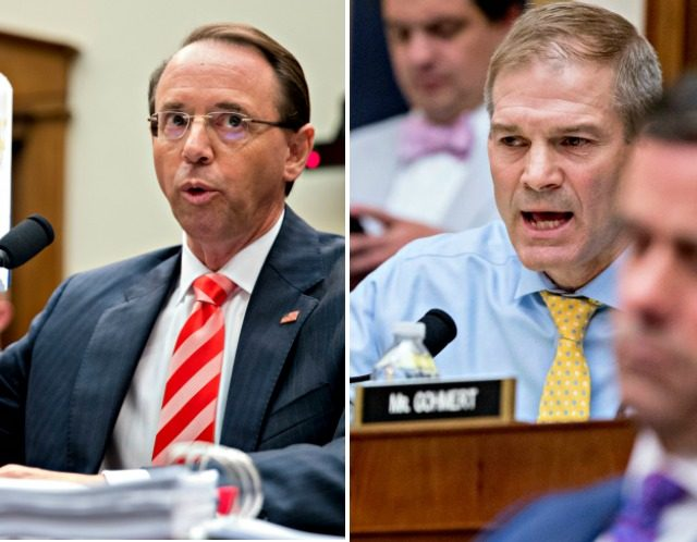 Rod Rosenstein, Jim Jordan