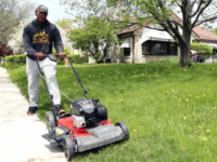 Rodney Smith Jr mow lawns