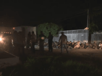 Illegal immigrants found being smuggled in tractor-trailer in San Antonio. (Photo: KSAT ABC12 Video Screenshot)
