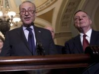 Schumer and Durbin (Saul Loeb / AFP / Getty)