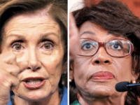 Nancy Pelosi and Maxine Waters (wire services)