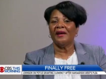 """Alice Johnson publicly thanked her """"Lord and Savior Jesus Christ"""" and """"President Donald John Trump"""" Wednesday afternoon, after being released from prison after serving 22-years."""