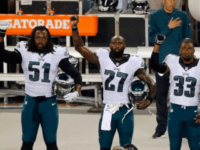 Eagles Protest