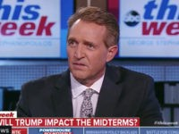 Flake Calls on Senate to Stand Up to Trump — 'Let's Not Move Anymore Judges Until We Get a Vote' on Tariffs