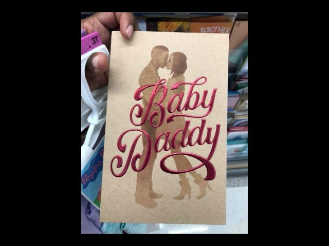 Target takes heat for 'Baby Daddy' Father's Day cards