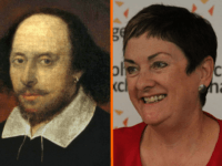 William Shakespeare/National Education Union (NEU) joint general secretary Mary Bousted