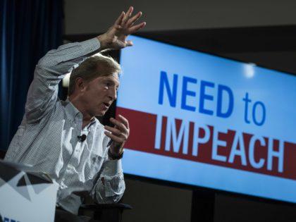 Tom Steyer Need to Impeach (Jewel Samad / AFP / Getty)