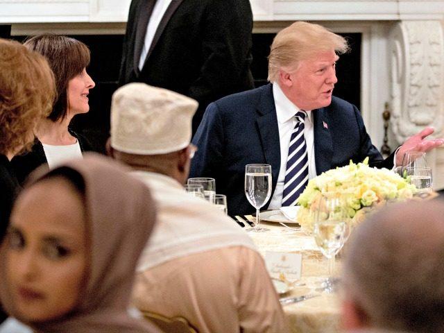 Trump, Iftar Dinner