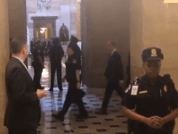 "Democrats Protest Trump on Capitol Hill; Person Shouts ""Mr. President, F*ck you!"""