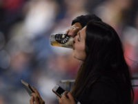 Beer Chug Baseball Fan