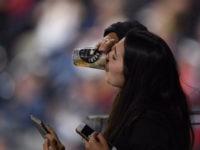 Beer Chug Baseball Fan
