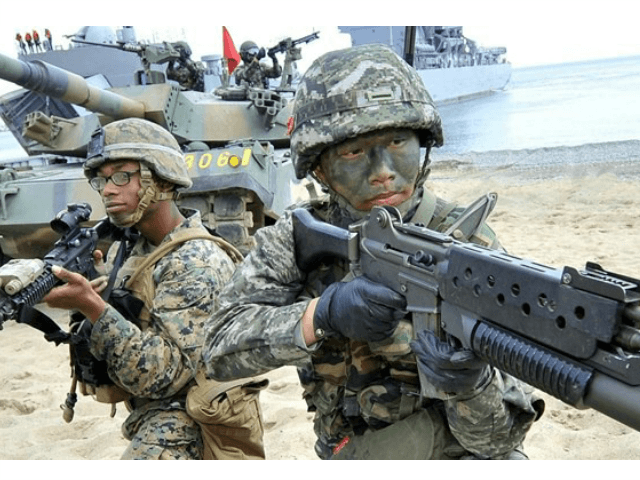 US SKorea War Games