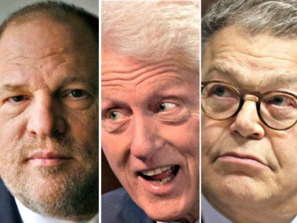 Weinstein, Bill Clinton, Franken