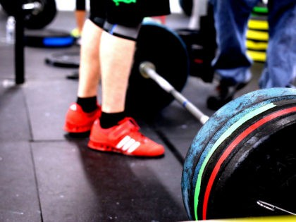 CrossFit lifting workout