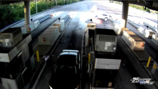 car toll booth