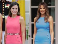 Fashion Déjà Vu: Queen Letizia of Spain Pays Homage to Melania Trump in Michael Kors