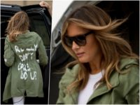 Leftists Take to Twitter to Denounce First Lady's Jacket on Border Trip