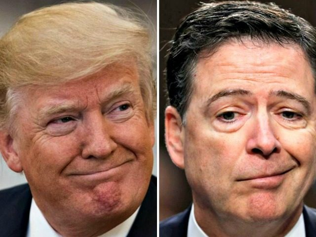 Trump hits out at Comey for lying